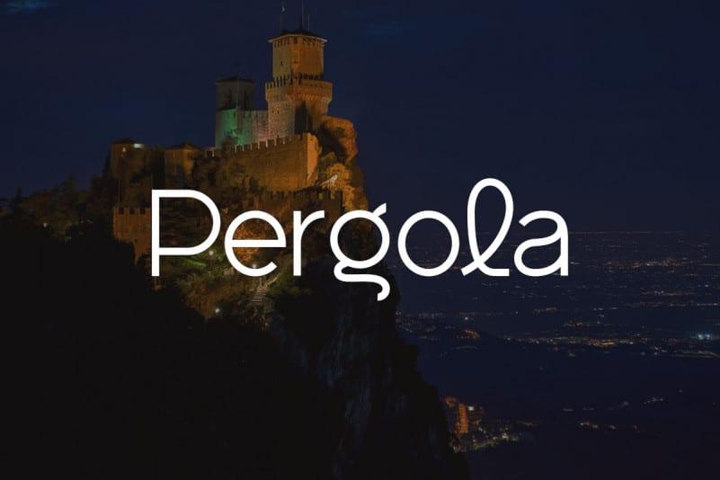 Pergola Sans Serif Font