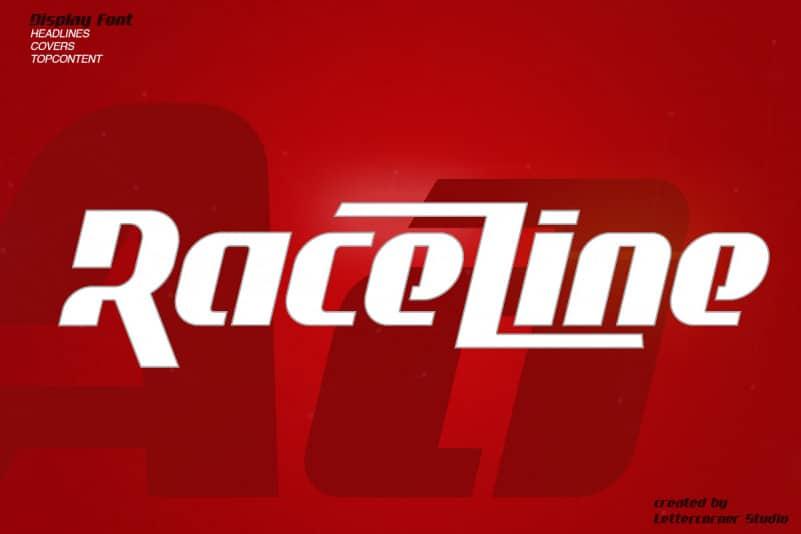 Raceline Font
