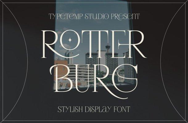 Rotterburg Font