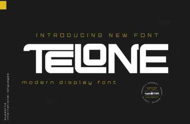 Telone Font