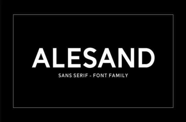 Alesand Font