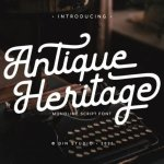 Antique Heritage Font