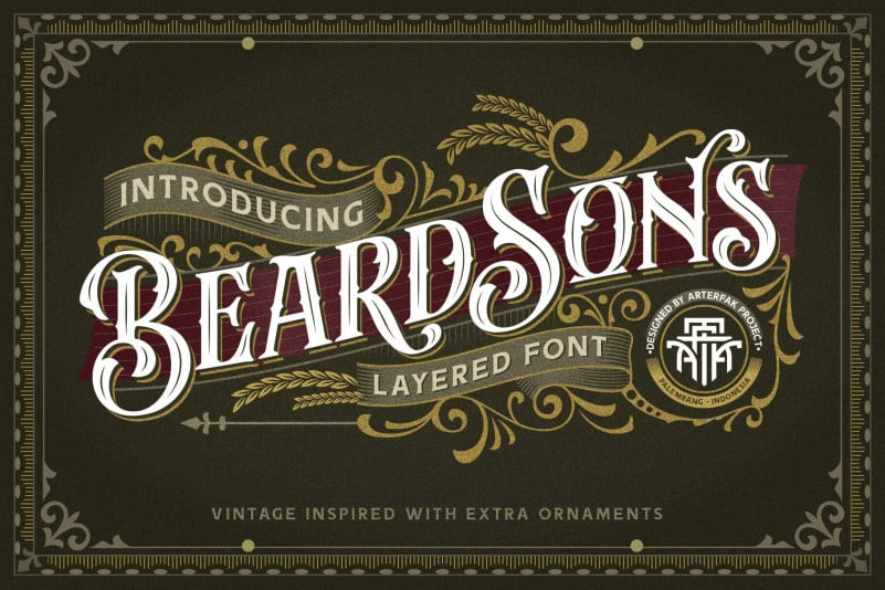 beardsons-normal-font