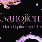 Gangitem Font
