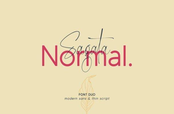 Sagata Normal Font
