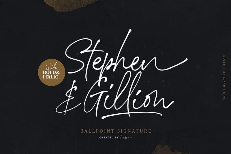 stephen-gillion-font