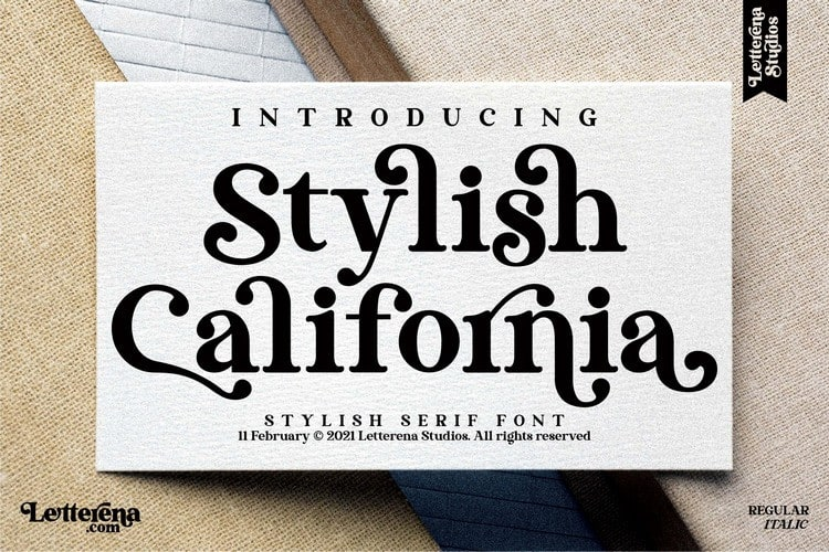 stylish-california-font-4