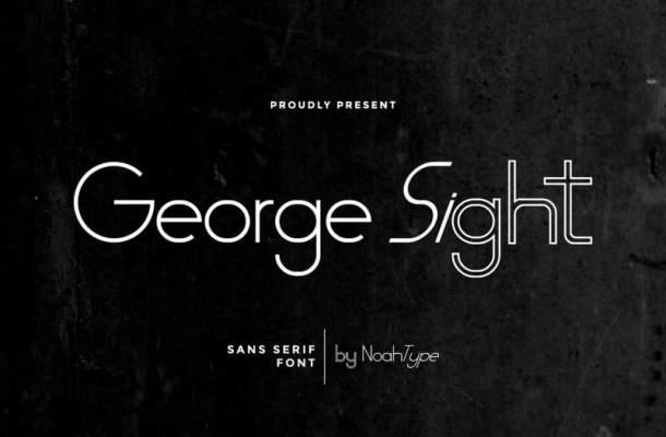 George Sight Font