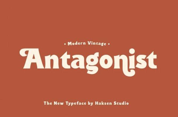 Antagonist Font