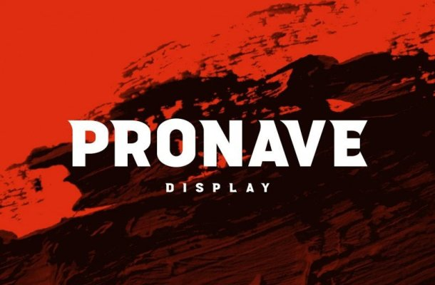 Pronave Font