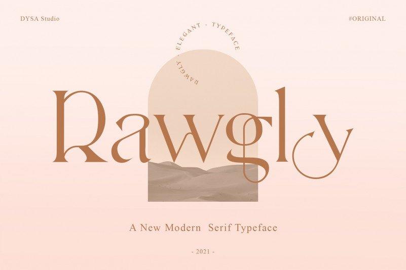 rawgly-font