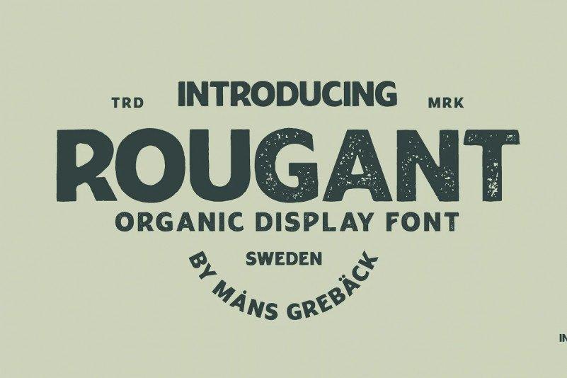 rougant font