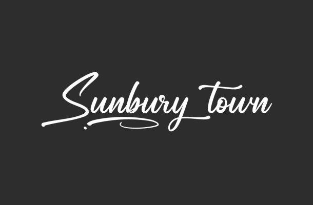 Sunbury Town Font