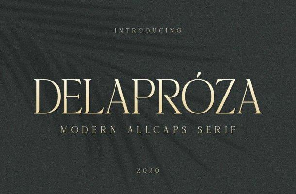 Delaproza Font