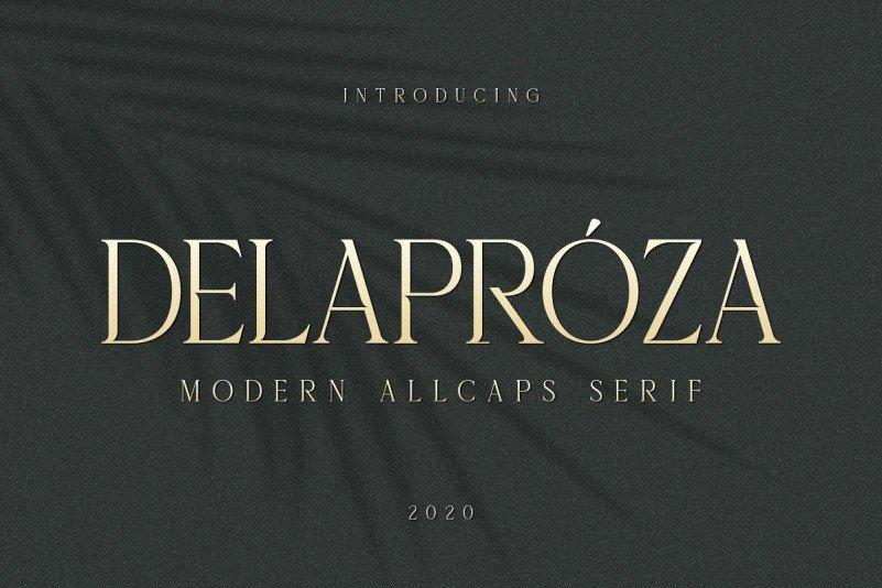 delaproza-font