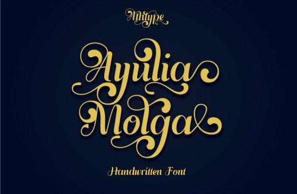 Ayulia Molga Font
