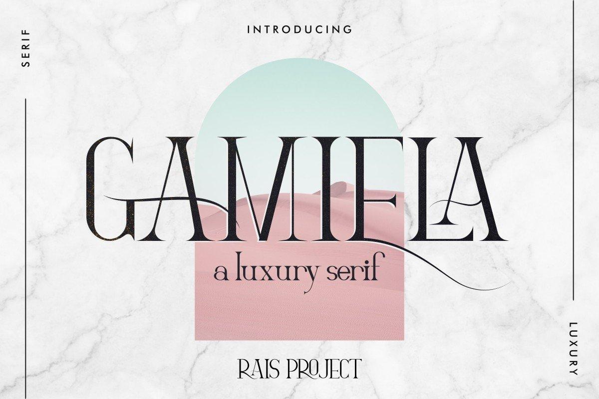 Gamiela-Font