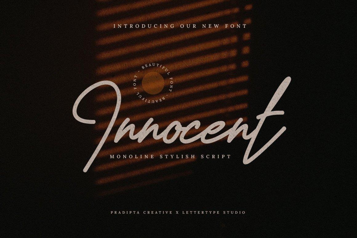 Innocent-Script-Font