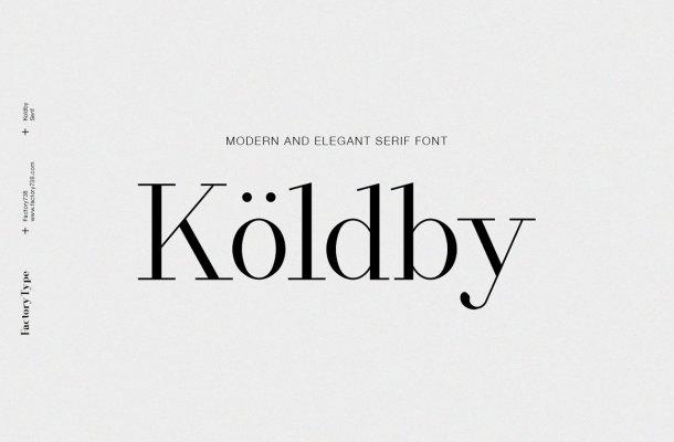 Koldby Font