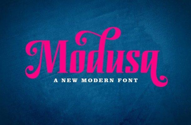 Modusa Font