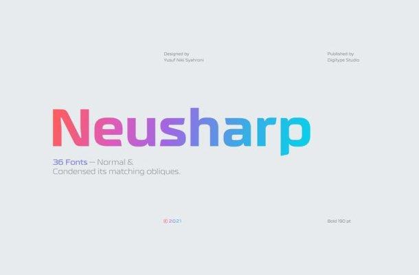 Neusharp Font