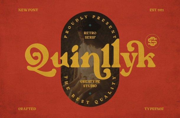 Quinlliyk Font