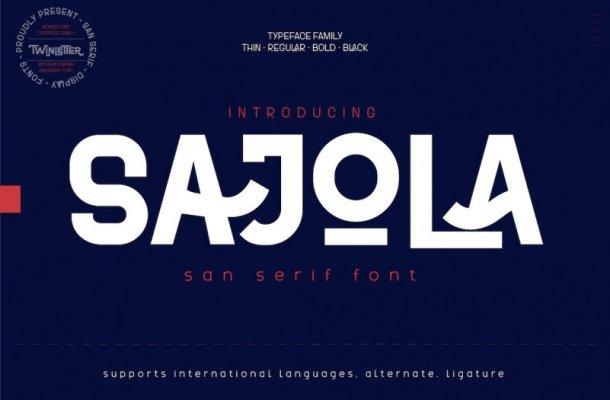 Sajola Font