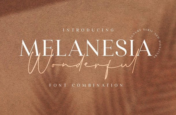 Wonderful Melanesia Font