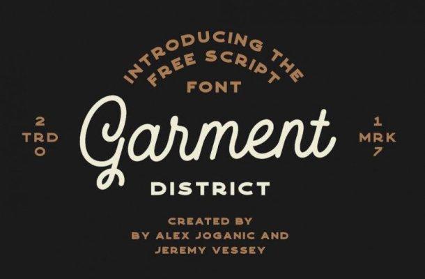 Garment Font