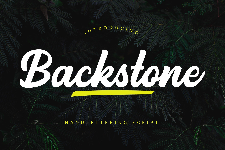 Backstone-Font