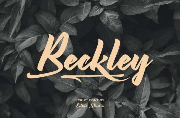 Beckley Font