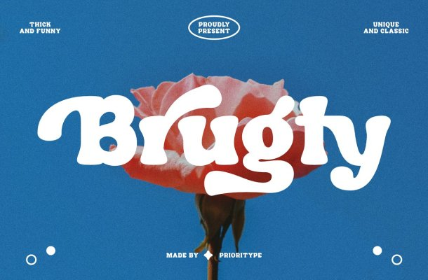 Brugty Font