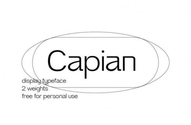 Capian Font