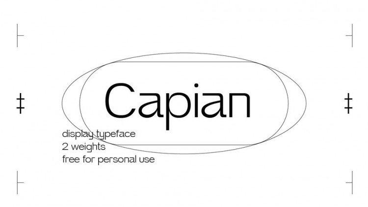 Capian-font