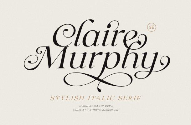 Claire Murphy Font