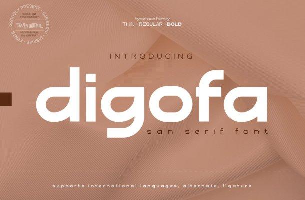 Digofa Font