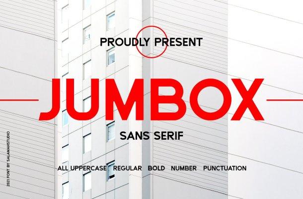 Jumbox Font