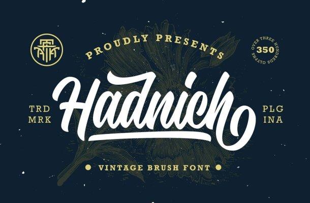 Hadnich Font