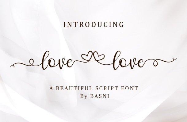 Lovelove Font