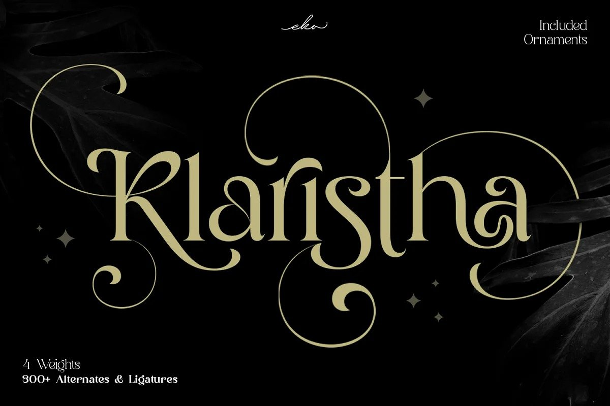 Klaristha Font