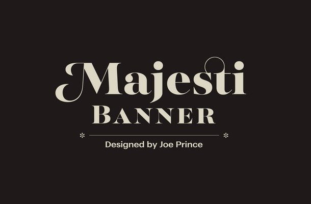 Majesti Banner Font Family