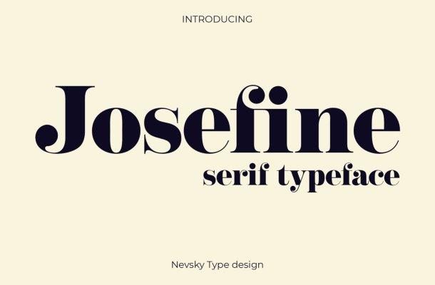 NT Josefine Font