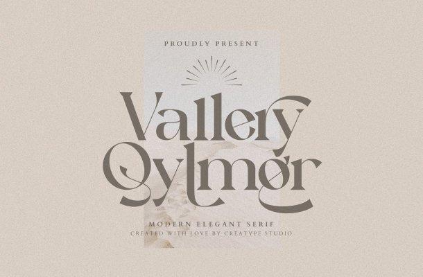 Vallery Qylmor Font