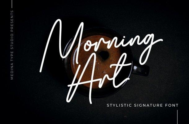 Morning Art Font