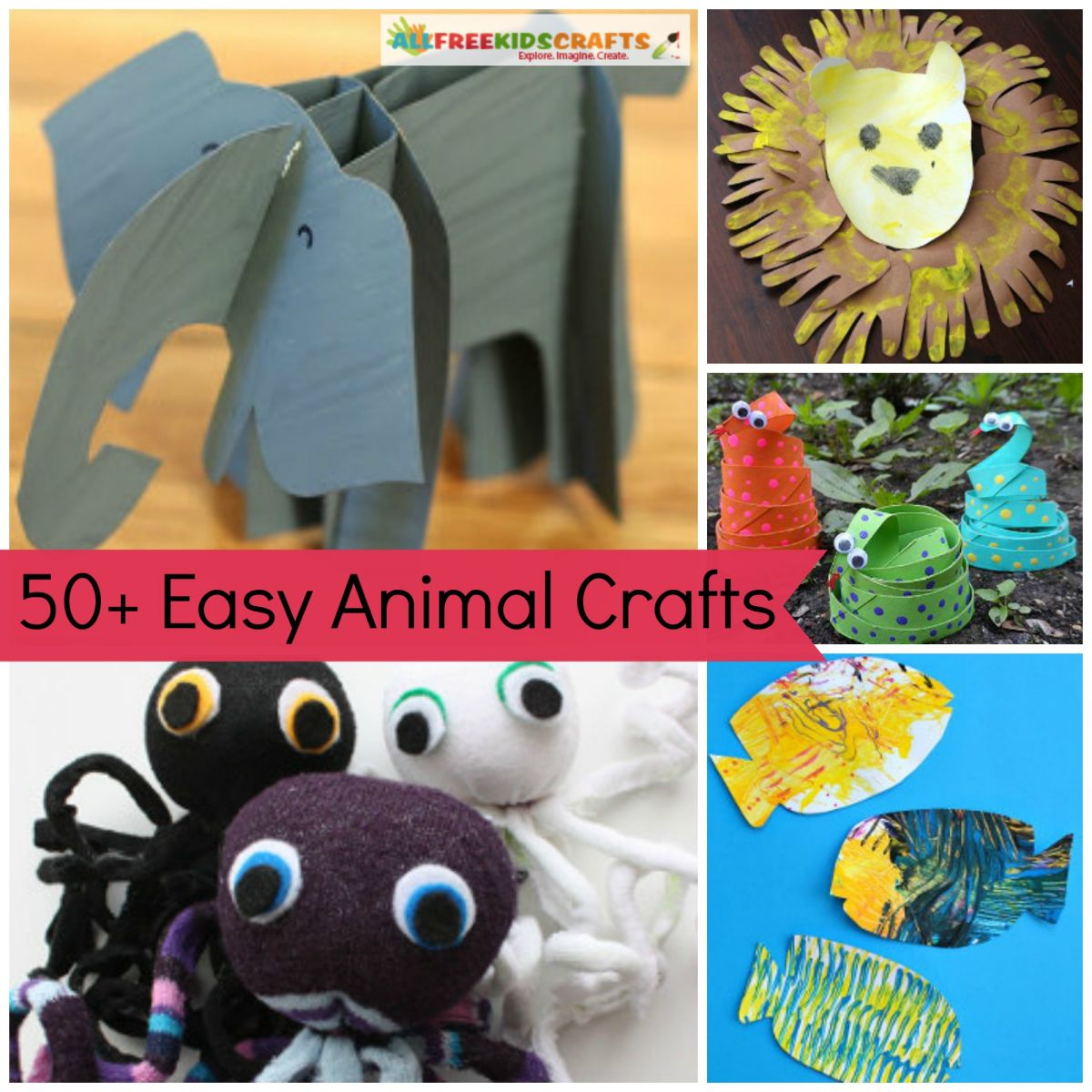 61 Preschool Animal Crafts And More