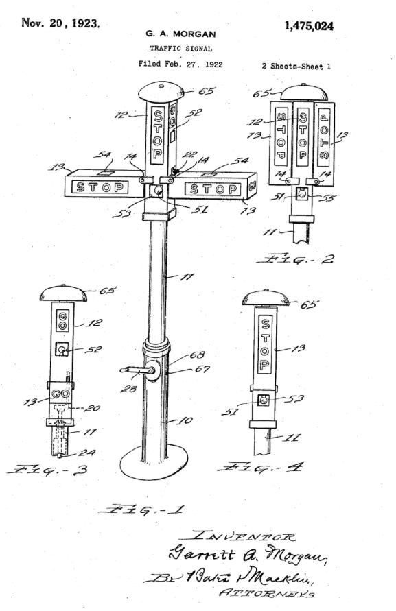 Garrett Morgan, Inventor of the Improved Traffic Signal