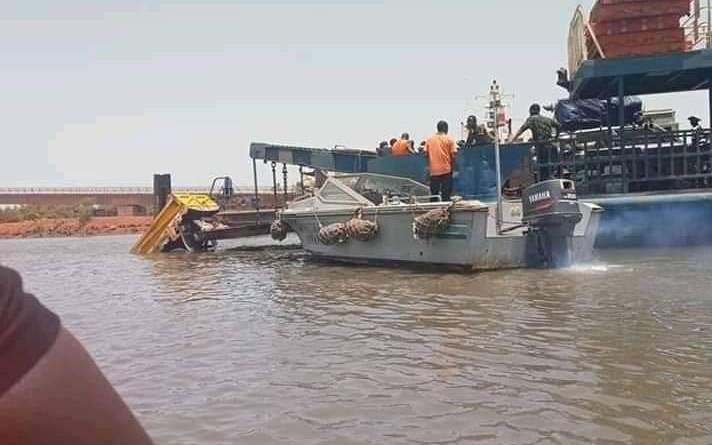 Gambia: A truck onboard the ferry plunged into the river