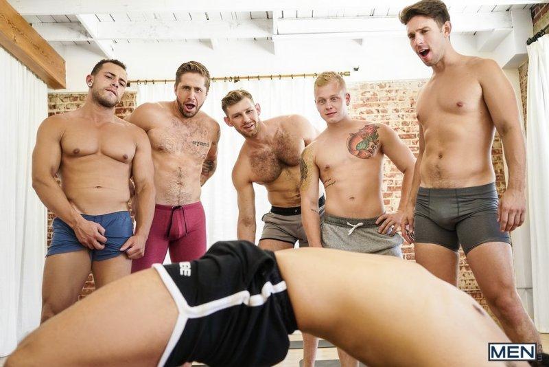 Six Hot Men Orgy 01