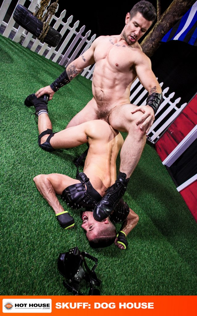 Master Trenton Ducati Pounds His Puppy Skyy Knox 03