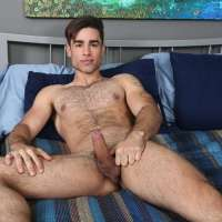 hairy boy lucas leon jerks off